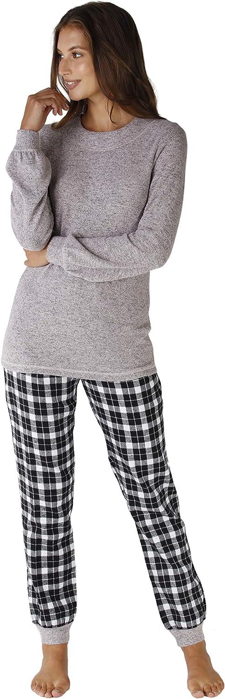 Lovable Warm Fabric+Flannel Juego de Pijama para Mujer