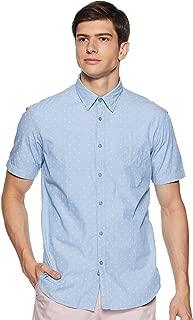 Indian Terrain Men's Slim Fit Casual Shirt