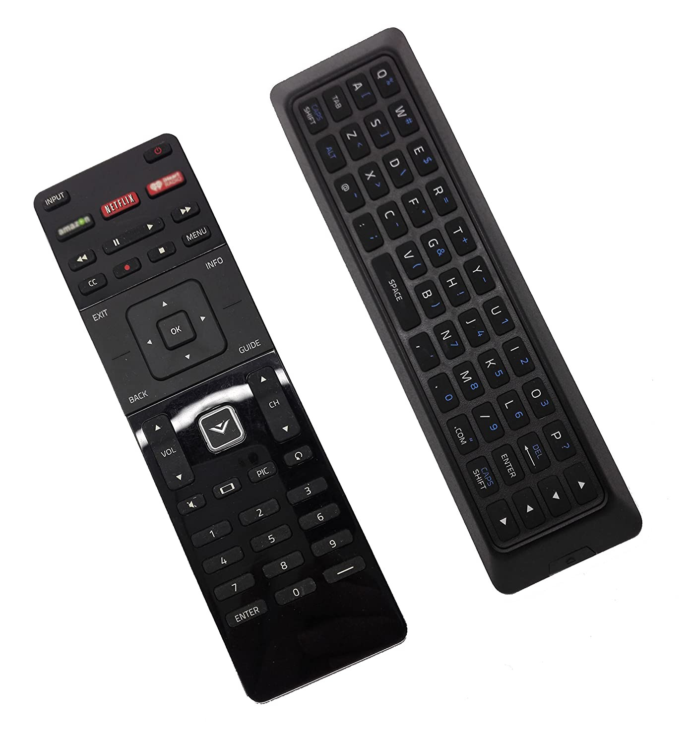econtrolly New Remote XRT500 with QWERTY Keyborad Blacklight for VIZIO TV M322I-B1 M422I-B1 M602I-B3 M602I-B3 M602IBE M652IB2 D24-D1