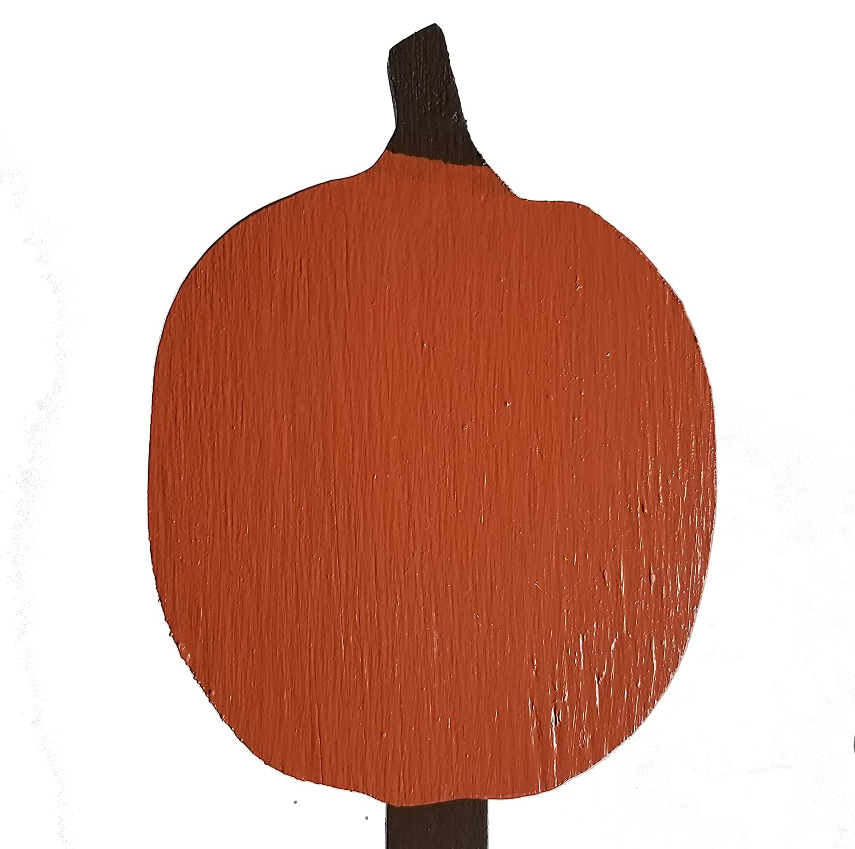Denver Mall Pumpkin Wood Plant Stake DIY Made supreme - Kit USA