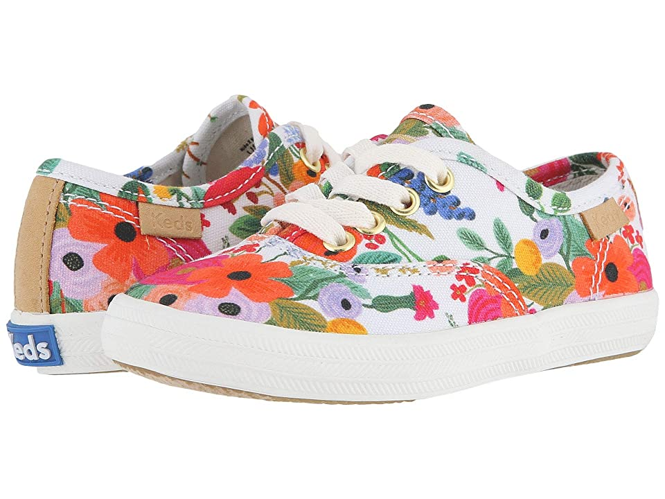 Keds x Rifle Paper Co. Kids Rifle Paper Champion Seasonal (Toddler) (Garden Party) Girls Shoes