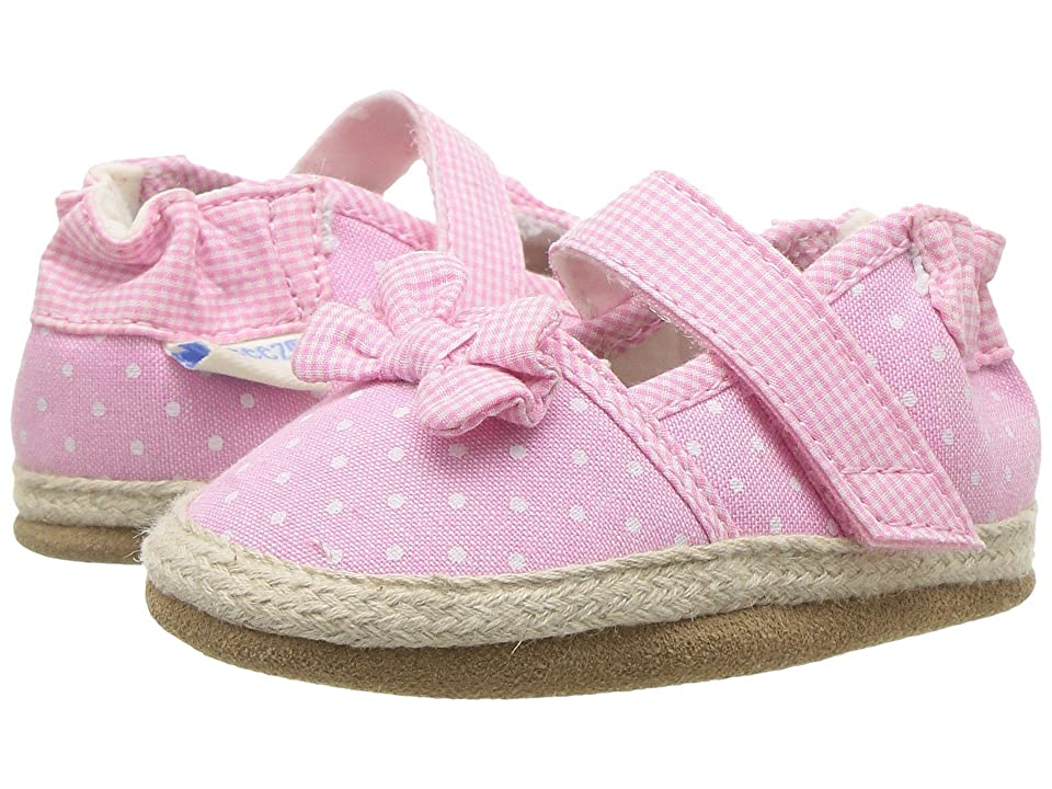 Robeez Buttercup Espadrille Soft Sole (Infant/Toddler) (Pink) Girl