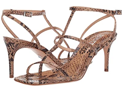 Schutz Ameena (Honey Beige Snake) Women