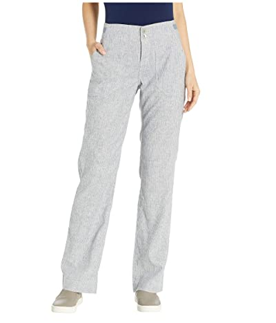 Royal Robbins Hempline Pants (Deep Blue Stripe) Women