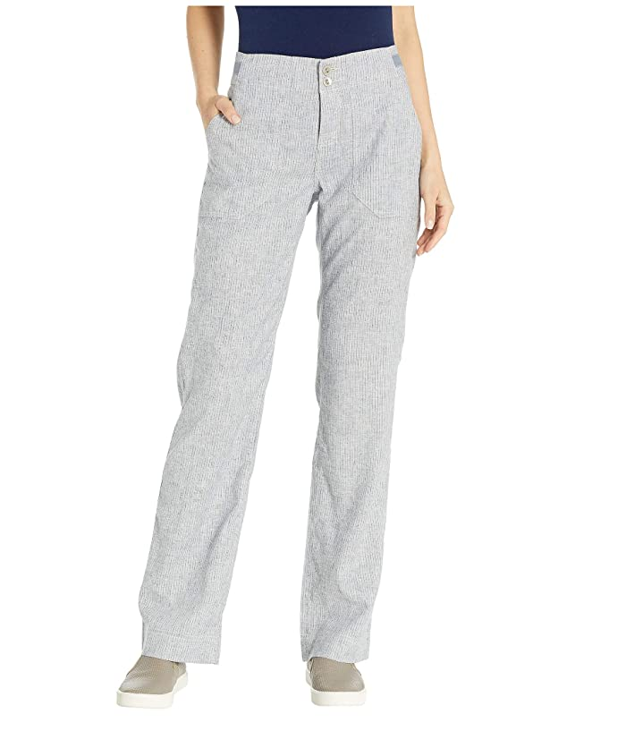 Royal Robbins Hempline Pants (Deep Blue Stripe) Women