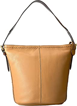Loralie Whipstitch Bucket Hobo