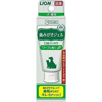 ライオン (LION) ペットキッス (PETKISS) 歯みがきジェル リーフの香り 40g
