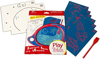 Boogie Board Play N' Trace Paperless Doodle Pad Activity Pack - Space Adventure (ACPL10003)