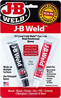 J-B Weld 8265S Original Cold-Weld Steel Reinforced Epoxy – 2 oz.