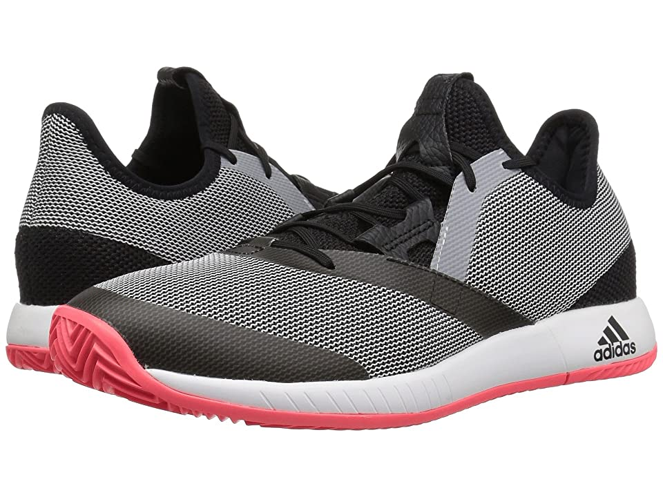 adidas adizero Defiant Bounce (Black/White/Flash Red) Men