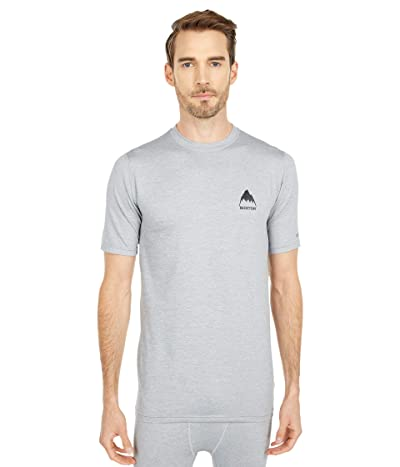 Burton Lightweight X Base Layer T-Shirt (Gray Heather) Men