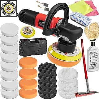TecTake Máquina de pulir excéntrico pulidora limpieza 2500
