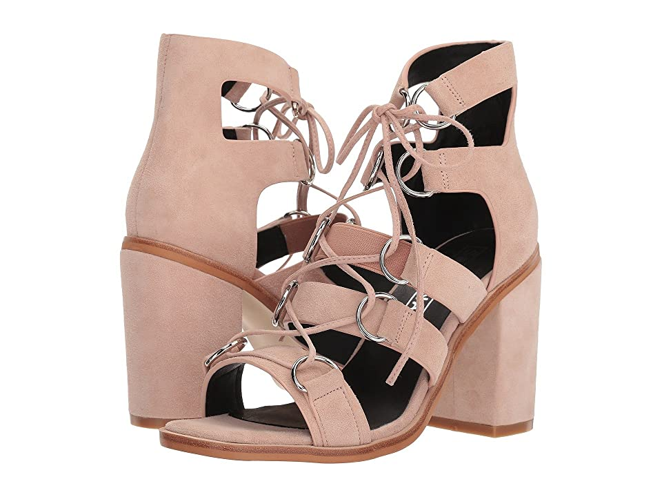 Sol Sana Everly Heel (Light Pink Suede) High Heels