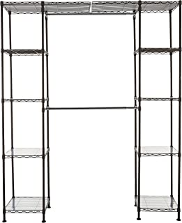 AmazonBasics Système de rangement de placard extensible -Bronze