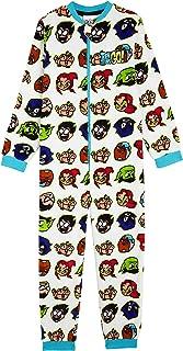 Pijama Niño de Una Pieza, Pijamas Enteros de Superheroes, Merchandising Oficial Regalos Originales para Niños Niñas Adolescentes 4-14 Años