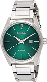 CITIZEN Mens Solar Powered Watch, Analog Display and Solid Stainless Steel Strap - BM7410-51X