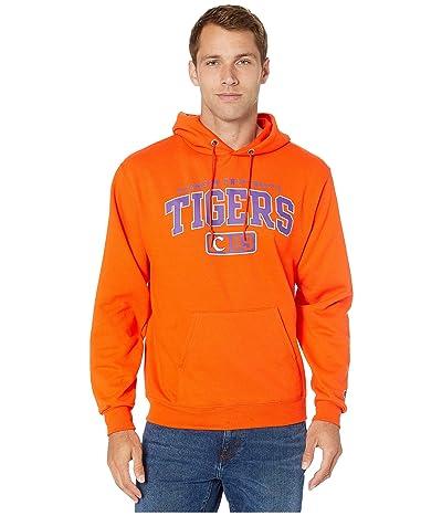 Champion College Clemson Tigers Eco(r) PowerBlend(r) Hoodie (Orange) Men