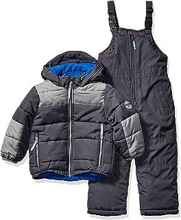 Osh Kosh Boys' Toddler Ski Jacket and Snowbib Snowsuit Set