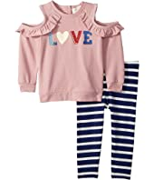 Kate Spade New York Kids - Love Leggings Set (Infant)
