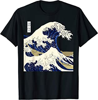 The Great Wave Kanagawa Japan T-Shirt T-Shirt