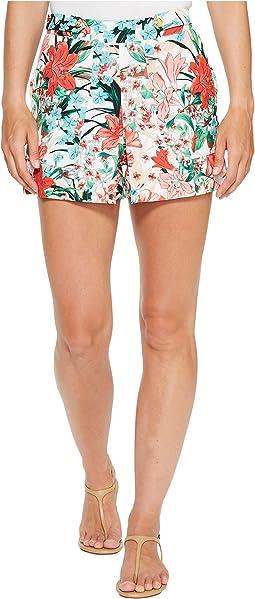 Tab Waisted Shorts