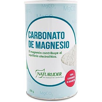 Naturlider Carbonato Magnesio 1 Unidad 21 g: Amazon.es: Salud y ...