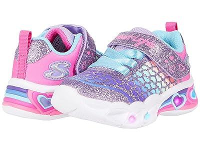 SKECHERS KIDS Sport Lighted Sweetheart Lights Lovely Colors 302312N (Toddler)