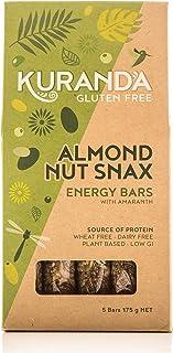 Kuranda Gluten Free Almond Nut Snax 5 Energy Bars