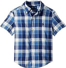 Cotton Madras Sport Shirt (Toddler)