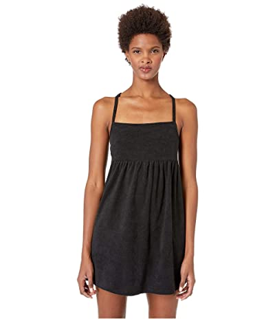 Kate Spade New York Marco Island Terry Cover-Up Dress (Black) Women