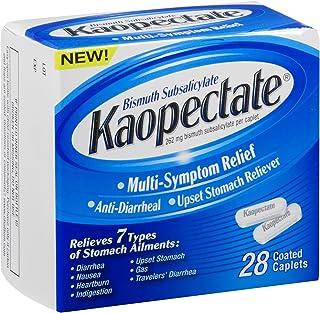 Kaopectate Multi-Symptom Anti-Diarrheal& Upset Stomach Reliever, 28 Caplets