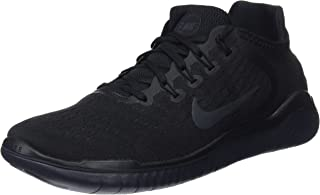 Nike Mens Free RN 2018 Running Shoes (14 D US) Black/Anthracite