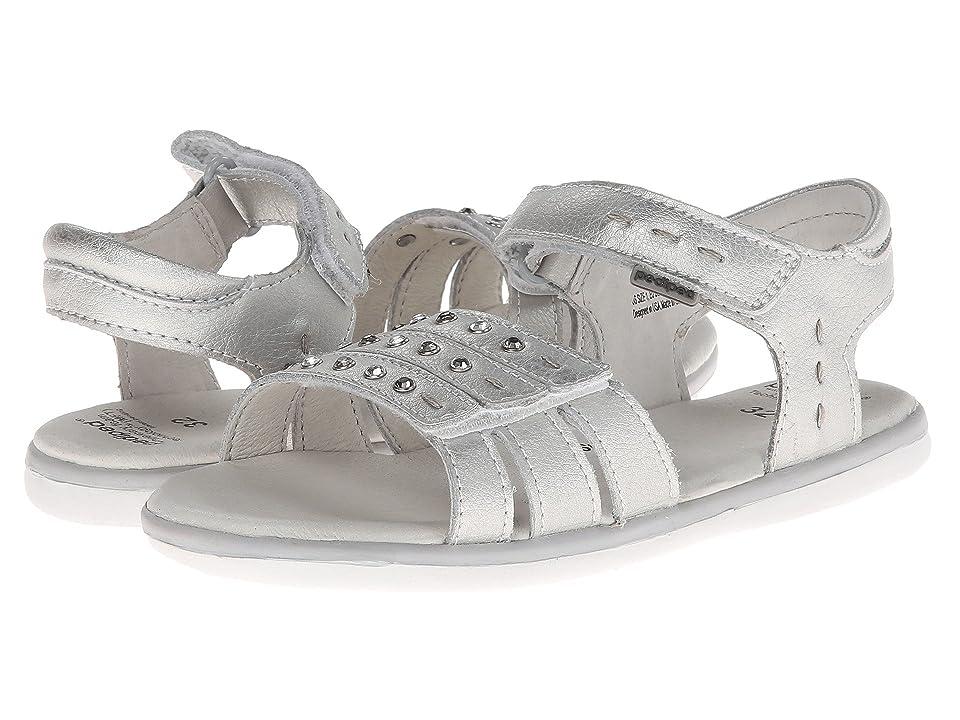 pediped Lynn Flex (Toddler/Little Kid) (Silver) Girls Shoes