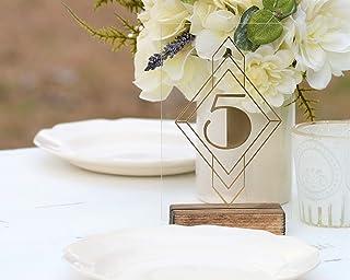 Amazon Com 1552953600 1555545600 Table Numbers Wedding