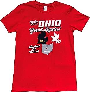 Make Ohio Great Again, Build The Wall T-Shirt