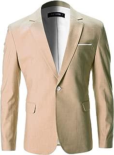 Mens Slim Fit Cotton Stylish Casual Blazer Jacket