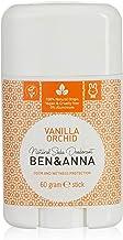 Ben & Anna Soda Desodorante Natural, vainilla orquídea
