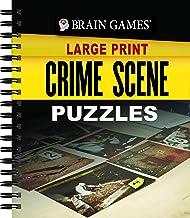 Brain Games Large Print - Crime Scene Puzzles