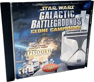 Star Wars Galactic Battlegrounds: Clone Campaigns (Expansion Pack)