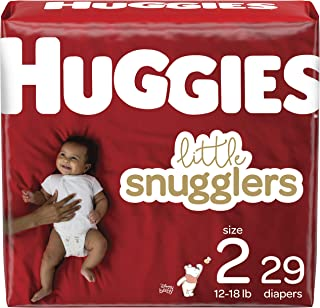 Huggies Little Snugglers Baby Diapers, Size 2, 29 Ct