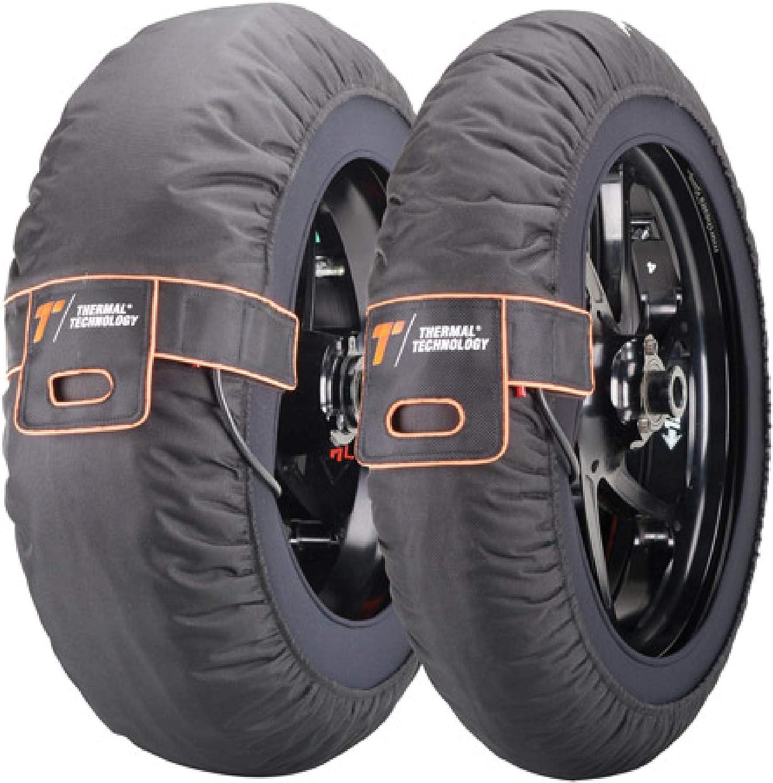 Thermal Technology Motorrad Reifenwärmer Pro Professionelle Verwendung Fixtemperatur Gleichmäßige Temperatur Am Gesamten Reifen Von 80 C Größe Xl 190 200 Auto
