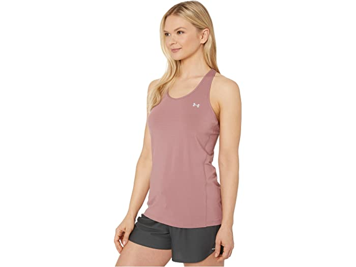 Under Armour Ua Hegear® Racer Tank Hushed Pink/metallic Silver Shirts & Tops