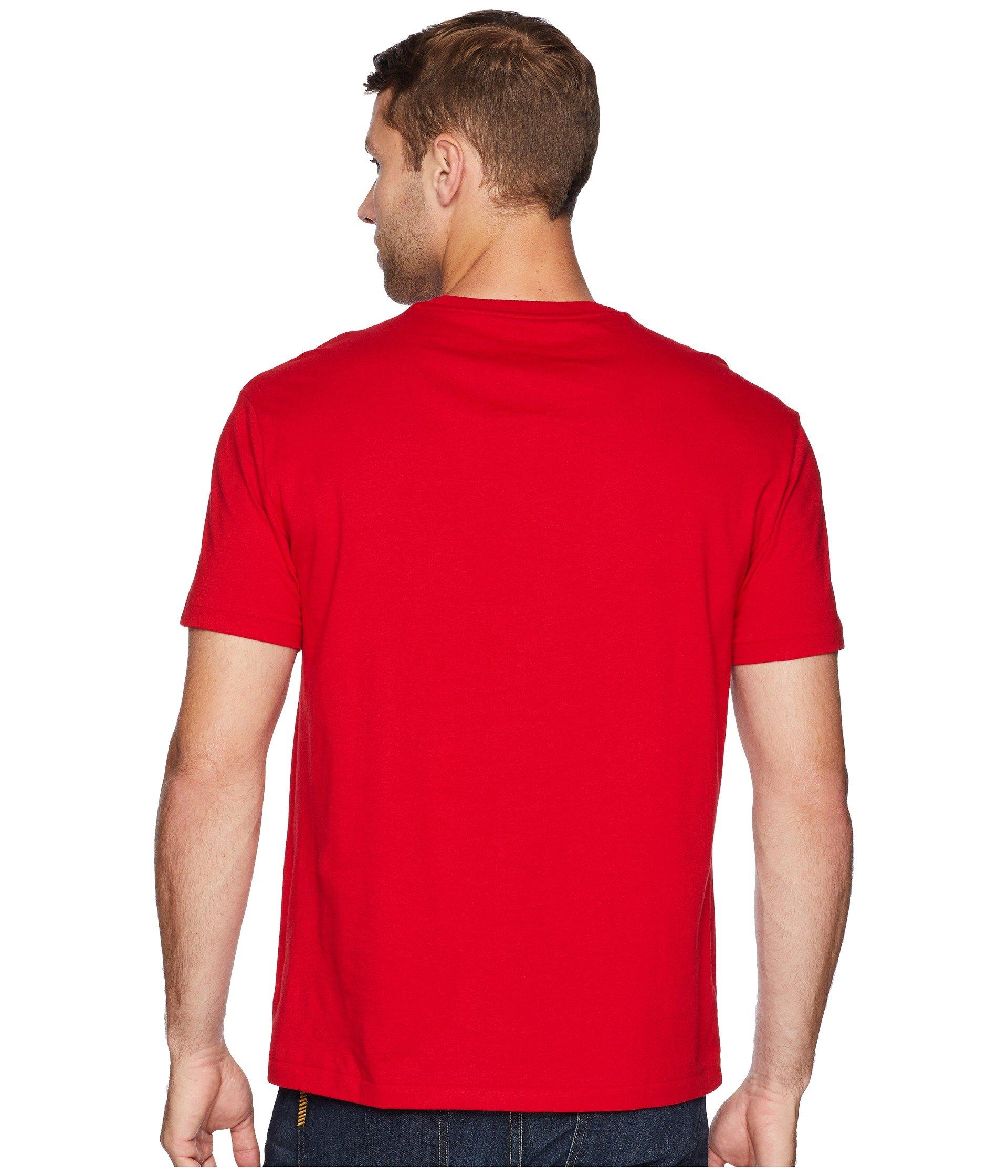 Fit Ralph Classic Lauren Red Crew Polo Rl2000 T shirt Neck pqFtnBBxR