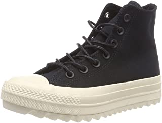 Converse Womens CTAS Lift Ripple Hi Canvas Trainers