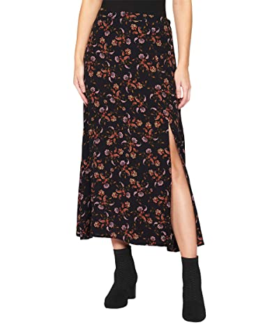 Sanctuary Feeling Free Midi Skirt (Micro Paisley) Women