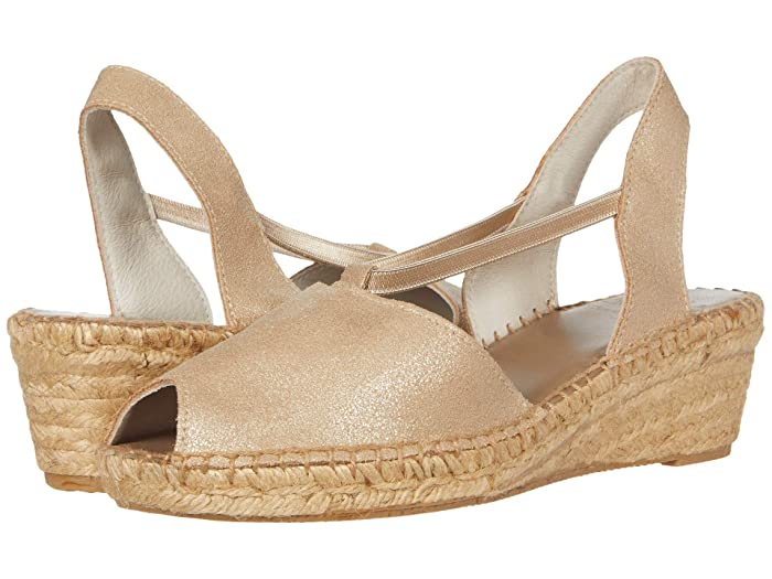 Andre Assous  Dainty (Platino Suede) Womens Sandals