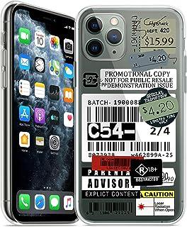 iPhone 12 Pro ケース かわいい オシャレ 面白 レトロ ラベル レツテル 札 切符 証憑 クリア TPU ソフト アイフォン iPhone12 Pro カバー 薄型 スリム 擦り傷防止 ワイヤレス充電対応