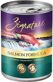 Zignature Salmon Formula Canned Dog Food (12 Pack), 13 Oz