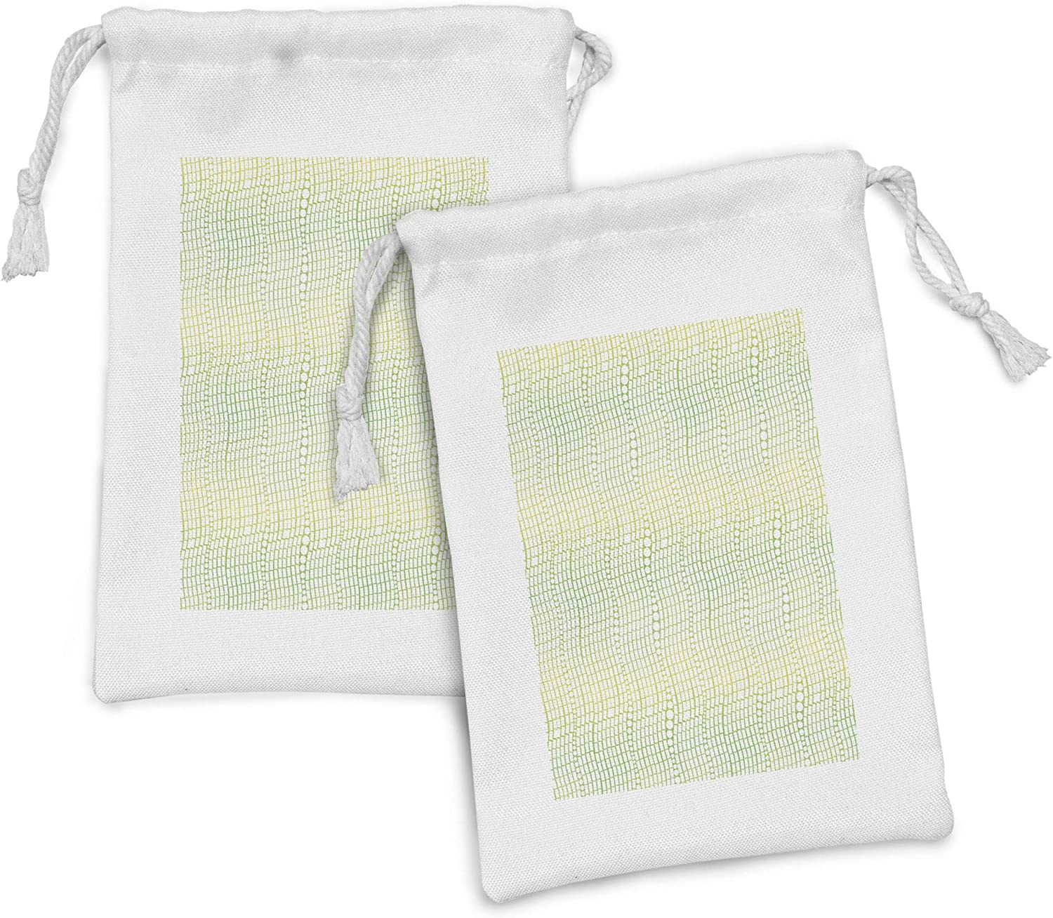 Popular Ambesonne Abstract All stores are sold Fabric Pouch Set Vertically Wa 2 of Arranged