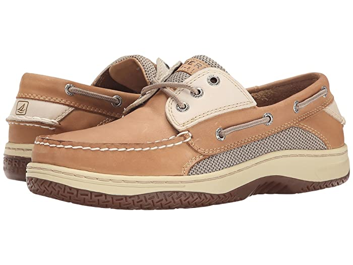 Sperry  Billfish 3-Eye Boat Shoe (Tan/Beige) Mens Lace up casual Shoes